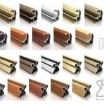 Профиль для шкафов купе Аристо: виды и особенности