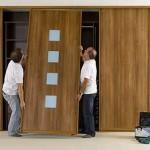 Как снять дверь шкафа-купе: инструкция мастера