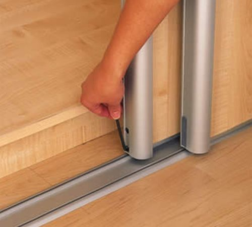 Как установить двери шкаф купе своими руками 51