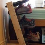 Полка для обуви своими руками: упорядочиваем и прячем