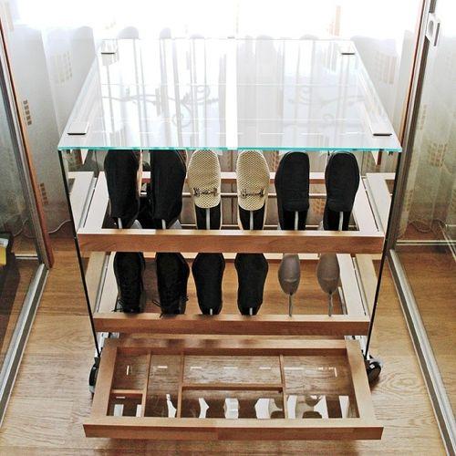 Не обычный дизайн обувницы