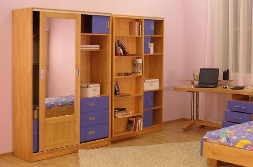 Шкаф для учебников школьнику