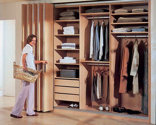Раздвижные двери для гардеробной 45