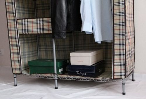 Как выглядят тканевые шкафы?