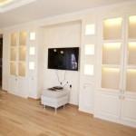 Встроенные шкафы в гостиную: фото подборка вариантов