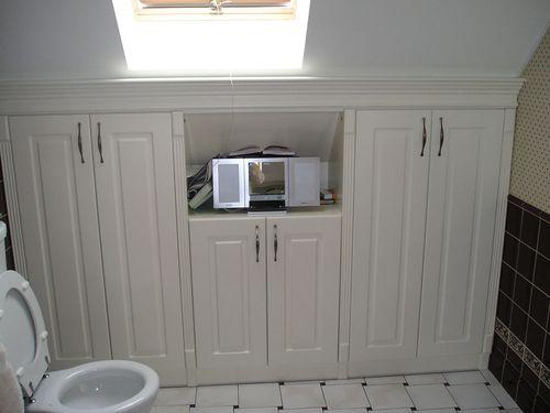 Шкаф-купе в ванную своими руками