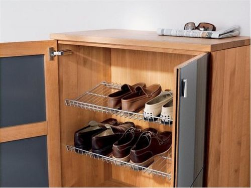 Шкаф под обувь в прихожую своими руками
