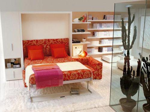 Красивый дизайн кровати