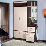 Как выбрать маленький узкий шкаф в прихожую