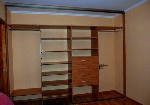 Встроенный шкаф для прихожей своими руками чертежи 81