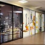 Какой выбрать дизайн шкафов купе: двери и фасады