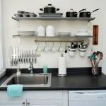 Идеи дизайна кухни без верхних шкафов