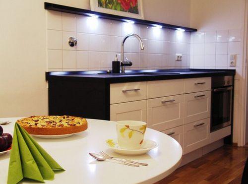 Выбираем кухню без верхних ящиков