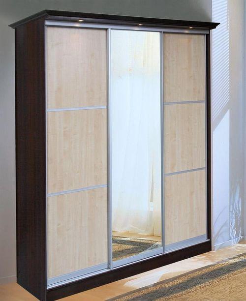 Шкафы купе цвет венге: фото варианты для спальни и прихожей.