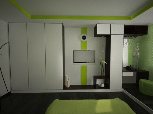 Шкаф от пола до потолка