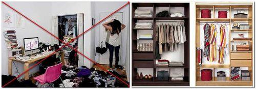 Порядок в шкафу как сделать - Mir-souz