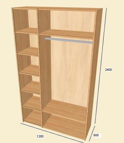 Выбираем двухдверный шкаф